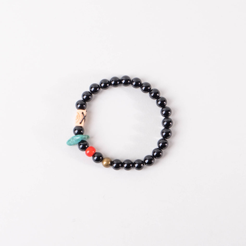 Friday & River x Lone Flag - Shores Bracelet Black