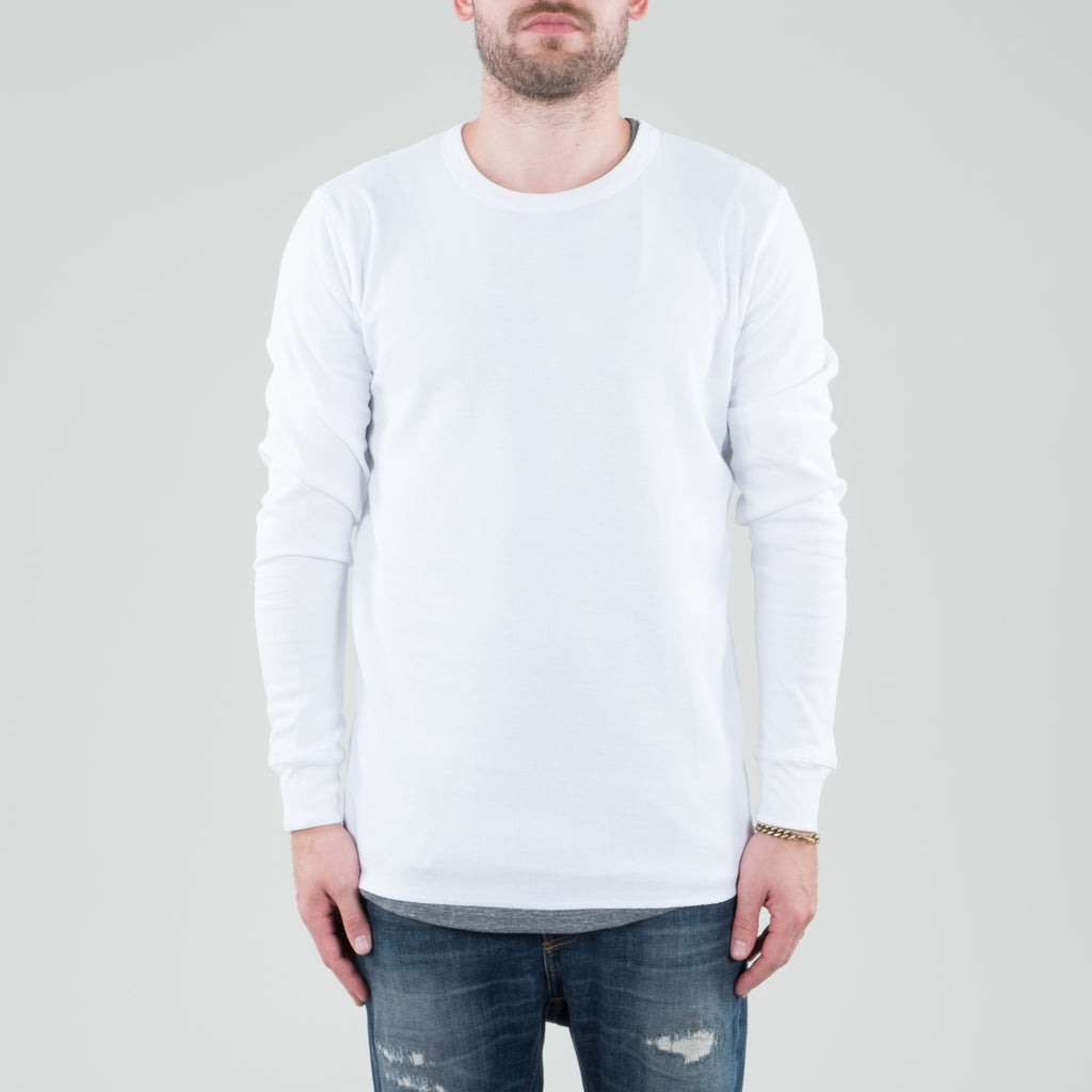 Lone Flag - Universal Thermal Longsleeve White
