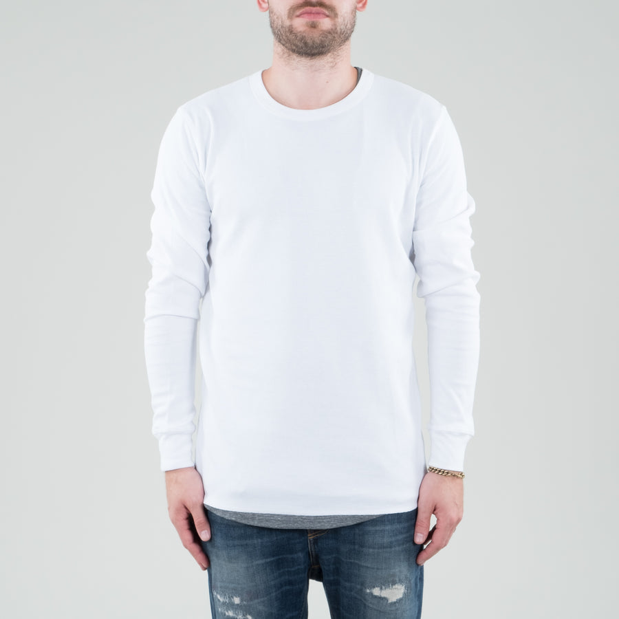 Lone Flag - Universal Thermal Longsleeve White - Lone Flag