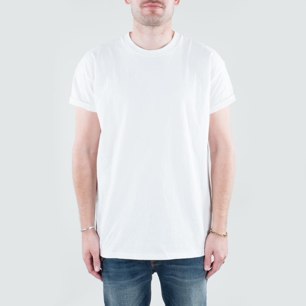 Lone Flag - Throwback Era Heavyweight Tee Aged White