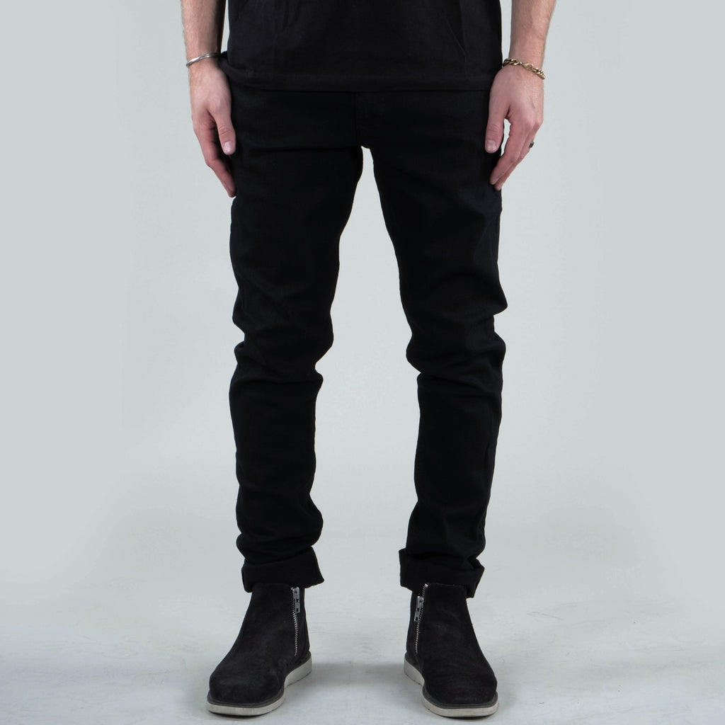 Univ - Whitman Black Overdye Denim