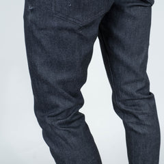 Coast Denim - Black / White Weft Slim Super-Taper