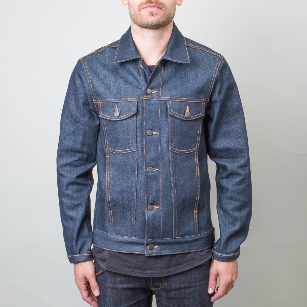 Coast Denim - High Tide Dry Indigo Denim Jacket