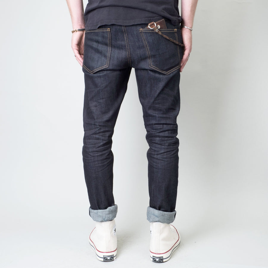 Coast Denim - All-Weather Indigo Slim Super-Taper - Lone Flag