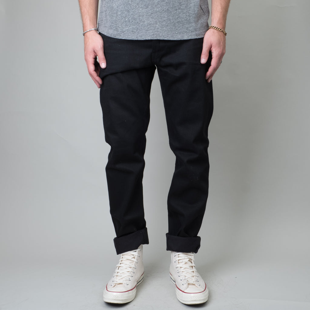 Coast Denim - Deep Cove Black Straight Taper