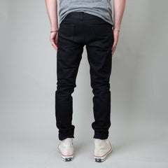Coast Denim - Deep Cove Black Slim Super-Taper