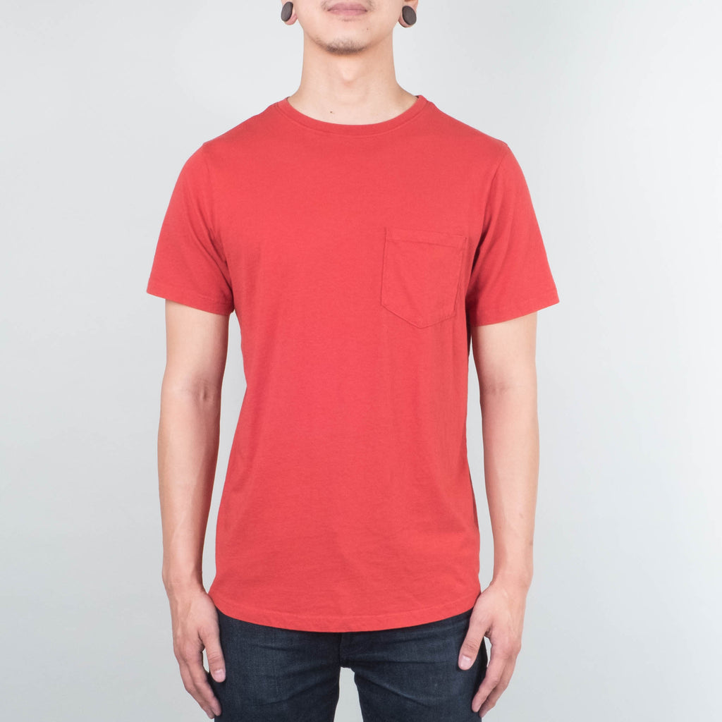Lone Flag - Basic Pocket Curved Hem Paprika