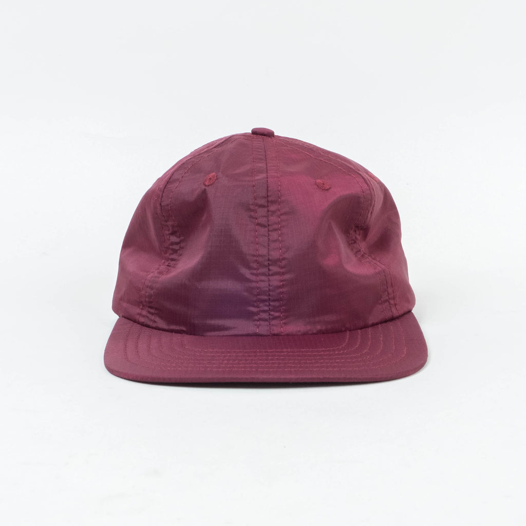 Lone Flag - Nylon Tech Hat Cabernet