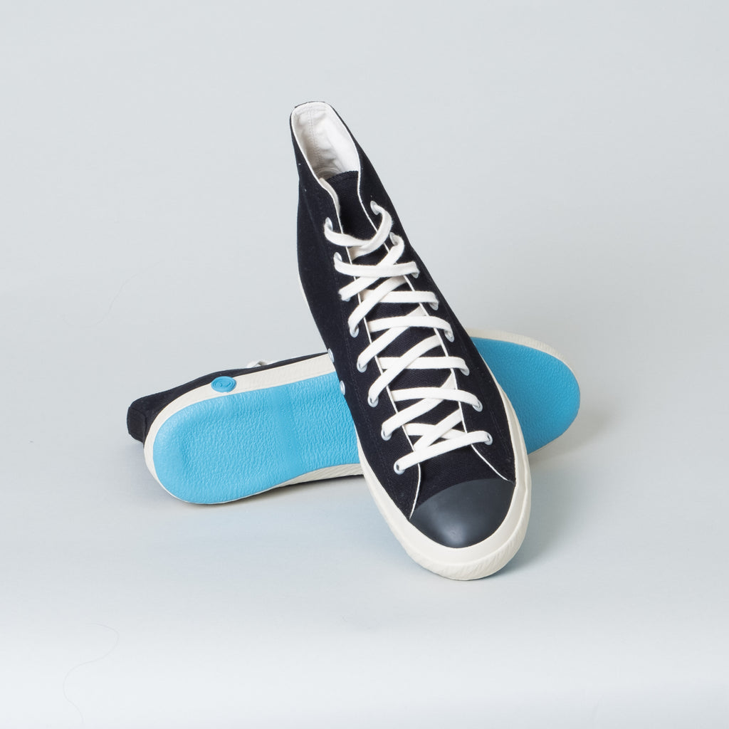 Shoes Like Pottery - Black High Top - Lone Flag