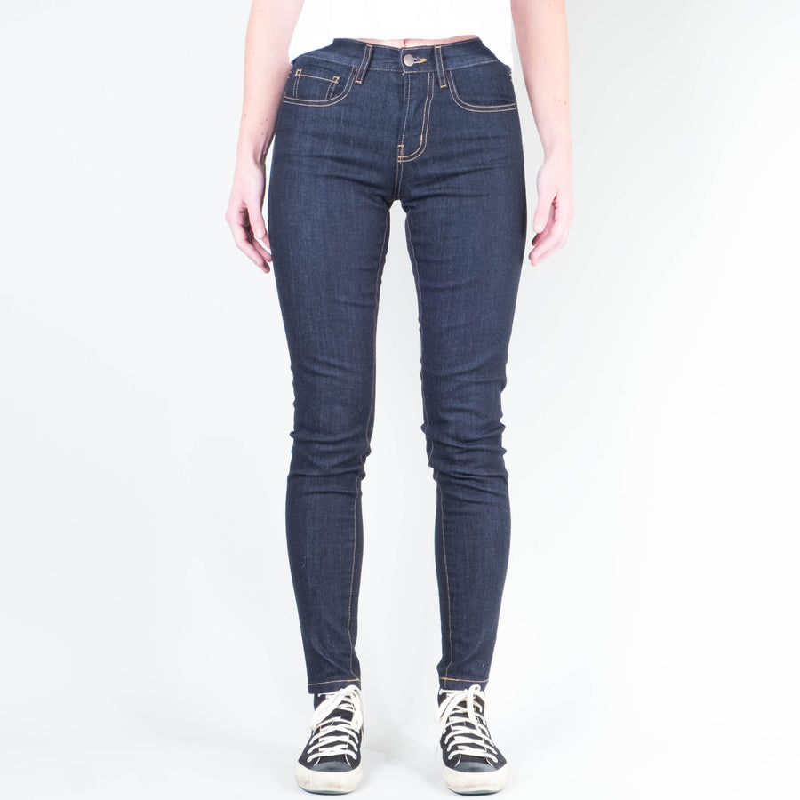 Coast Denim - Women's High Rise Skinny - Lone Flag