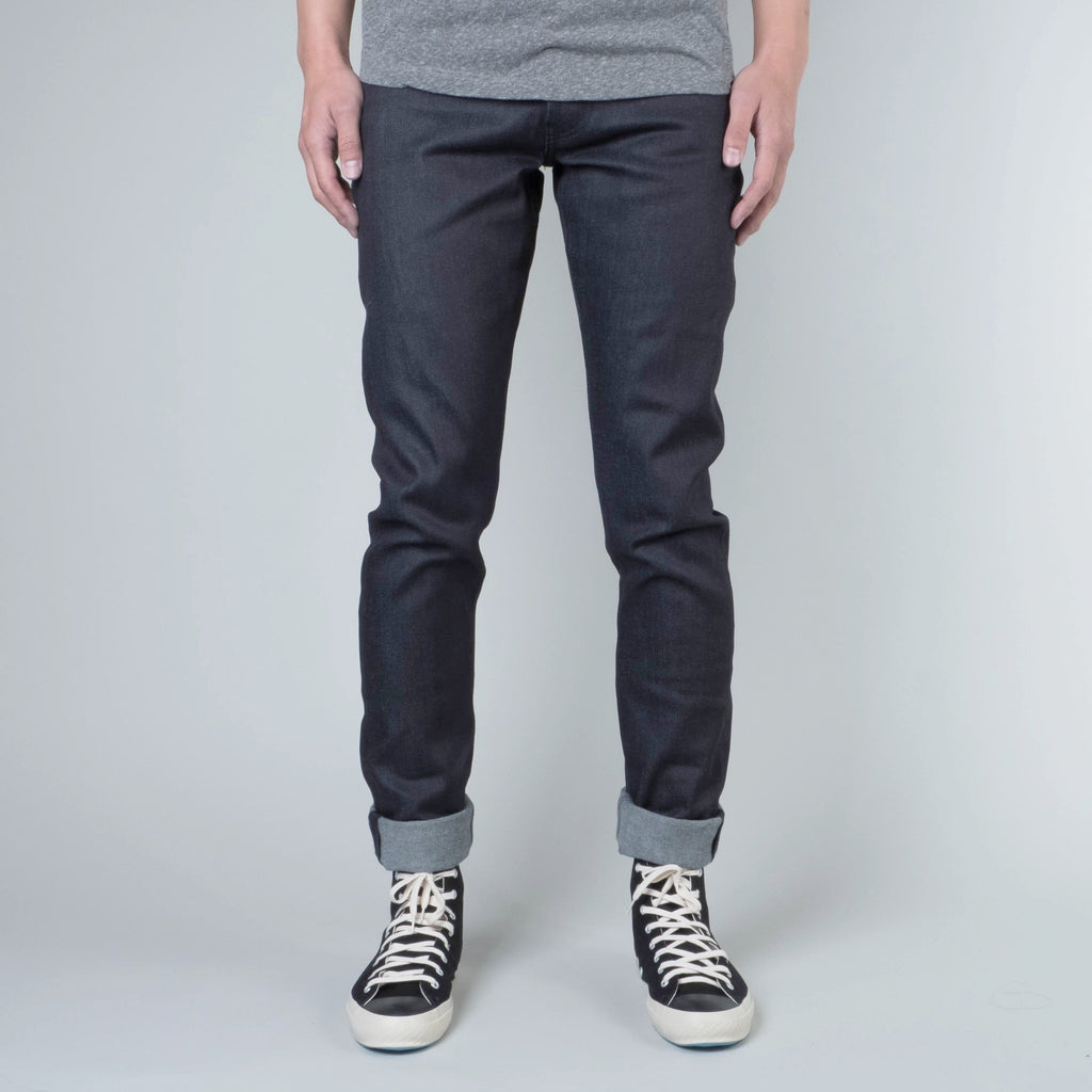Coast Denim - Blue / Black Super Fader All-Weather Slim Super-Taper