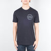 UNIV - Authentic Tee Black - Lone Flag