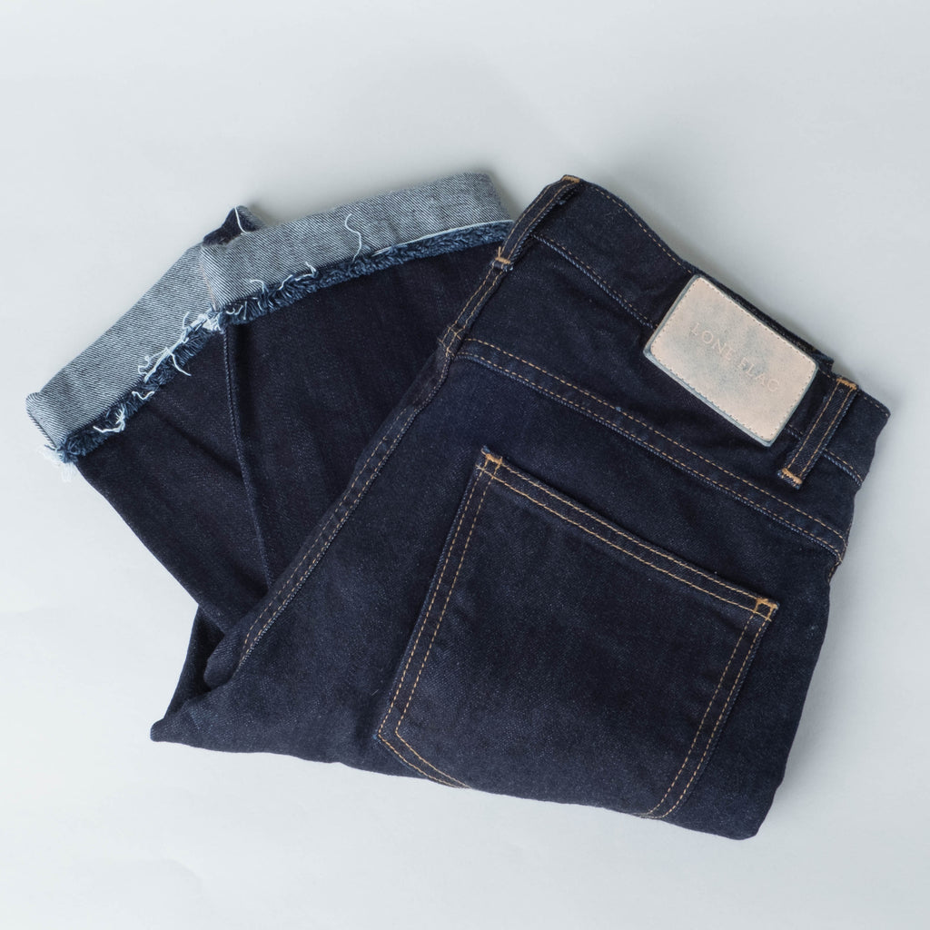 Coast Denim - Swami's Ocean Wash / Raw Hem Slim Super Taper
