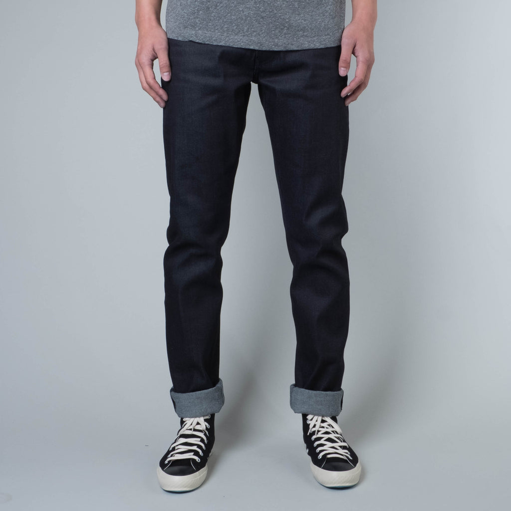 Coast Denim - Blue / Black Super Fader All-Weather Straight Taper