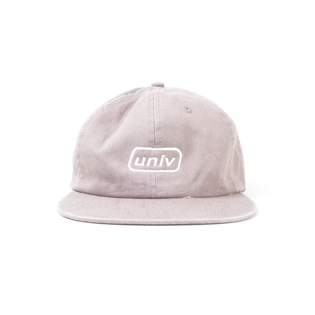 UNIV - Italic Embroidery Hat Grey