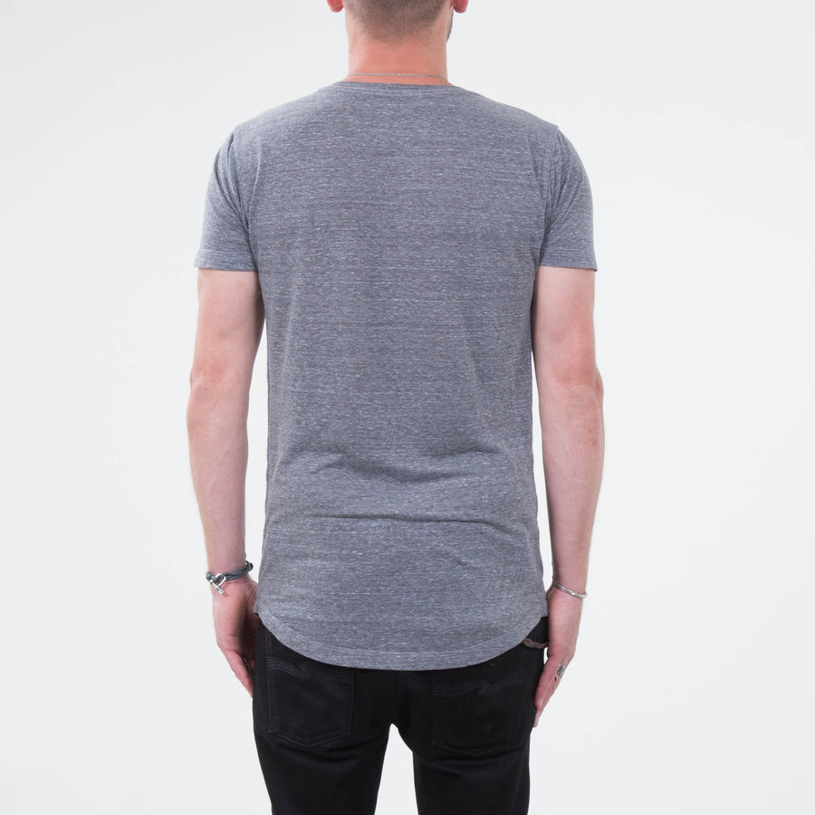 Lone Flag - Basic Form Fit Heather Grey - Lone Flag