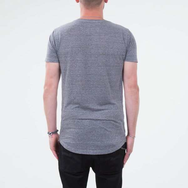 Lone Flag - Basic Form Fit Heather Grey