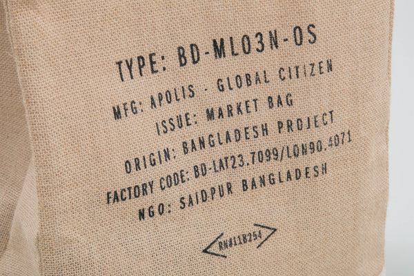 Apolis x Lone Flag - Market Bag