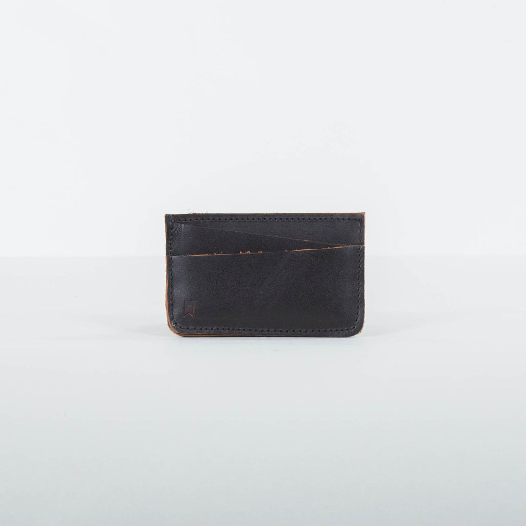 Lone Flag - Minimalist Card Sleeve Black