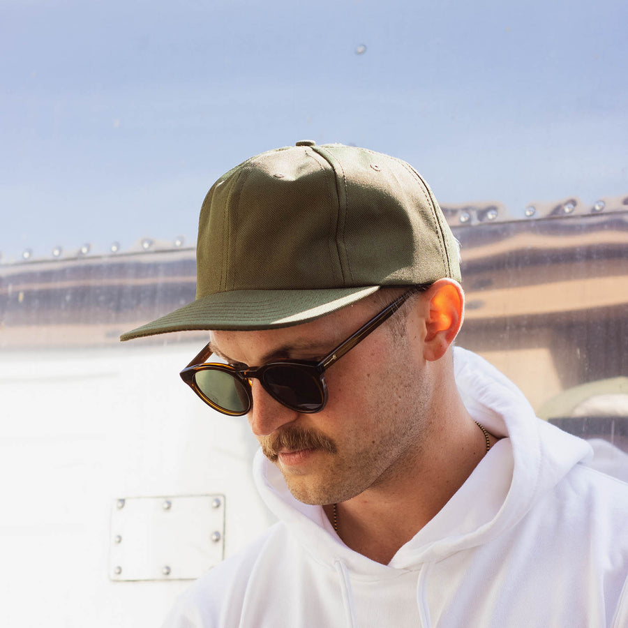 Lone Flag - Poly Tech Hat Olive
