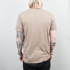 Lone Flag - Basic Pocket Curved Hem Muted Fatigue