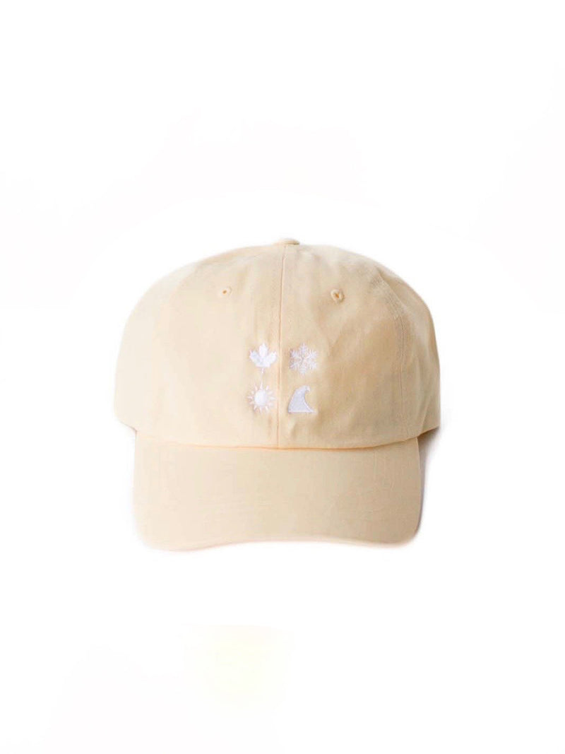 4 Icon Yellow Ballcap