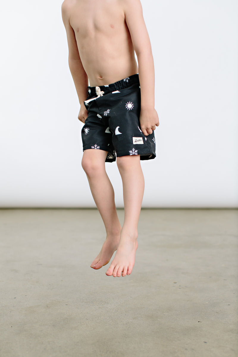 4 Icon Swim Trunks - Youth