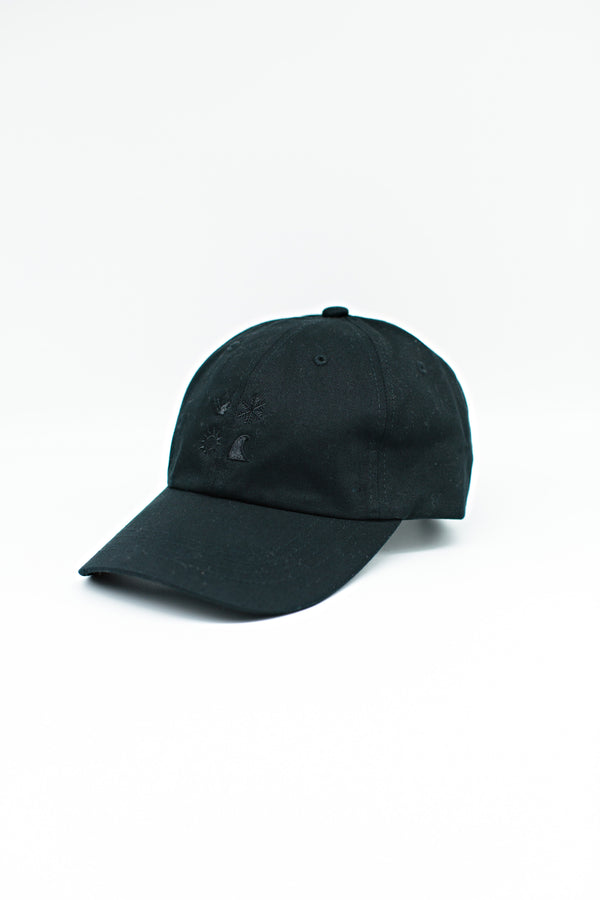 The Mike Ballcap- Black on Black