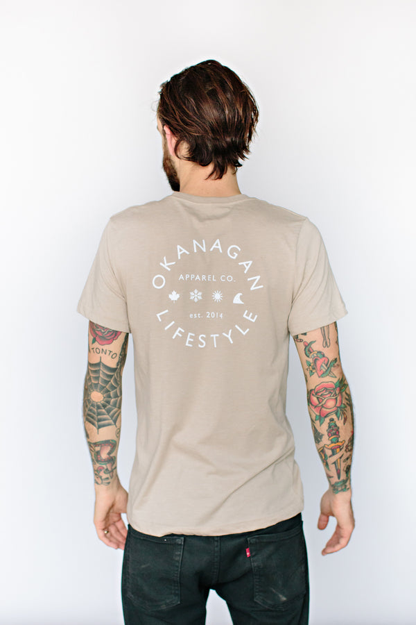 Heather Tan Classic T-Shirt