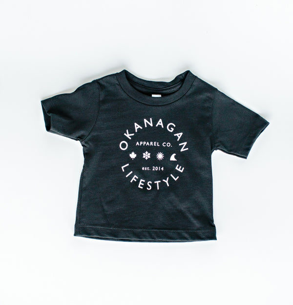 Baby/Toddler 'Classic' T-Shirt - Black