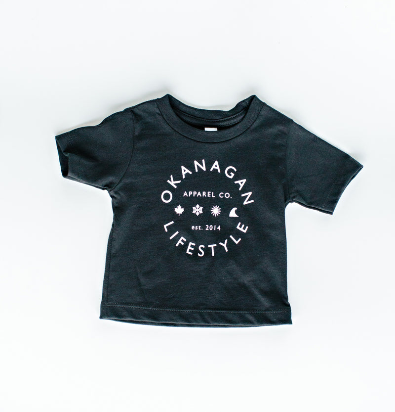 Classic Black T-Shirt Toddler