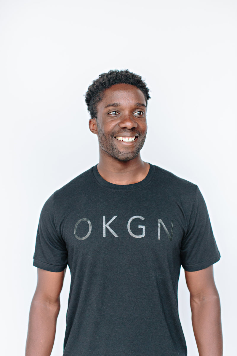 Black OKGN Bamboo T-Shirt