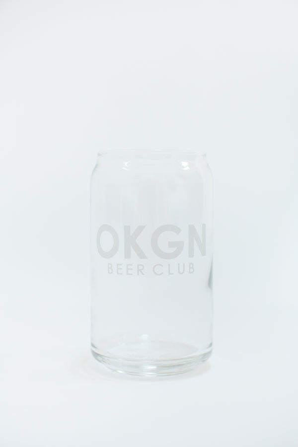 OKGN BEER CLUB Glasses (Set of 2) - OKANAGAN LIFESTYLE APPAREL