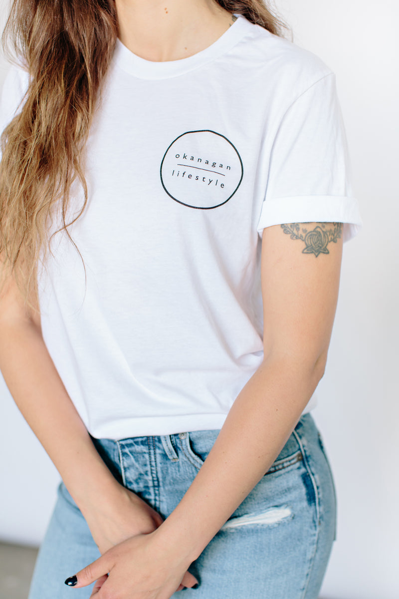 'Full Circle' T-Shirt - OKANAGAN LIFESTYLE APPAREL