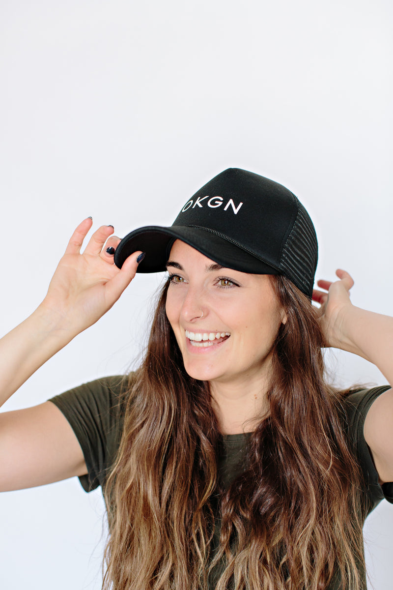 'OKGN' MeshBack Hat - OKANAGAN LIFESTYLE APPAREL