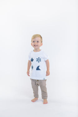 'Four Icon' Youth T-Shirt - OKANAGAN LIFESTYLE APPAREL