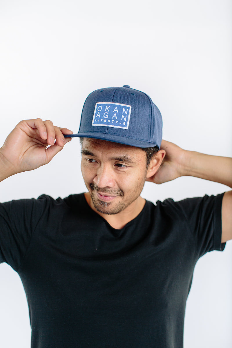 'Main Street' Snapback - OKANAGAN LIFESTYLE APPAREL