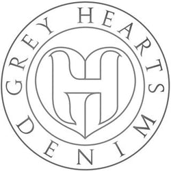 Grey Hearts Denim Gift Card