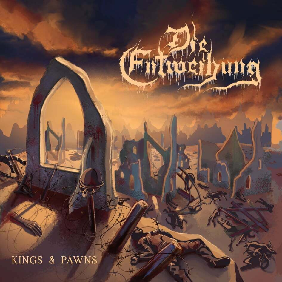 Kings & Pawns Die Entweihung CD Experimental Black Metal