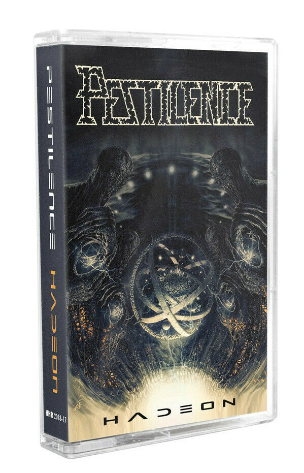 Pestilence Hadeon Cassette Tape Death Metal