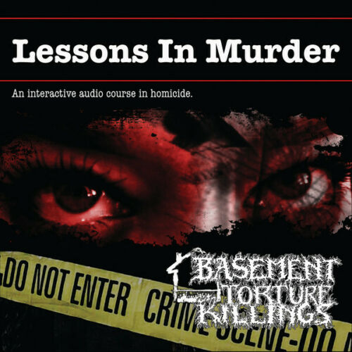 Basement Torture Killings Lessons In Murder CD Death Metal Grindcore