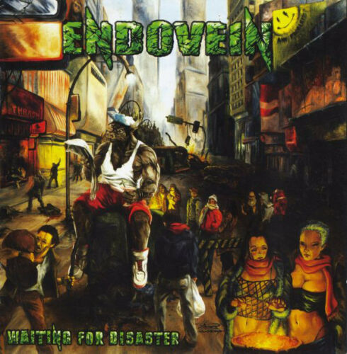 Endovein Waiting For Disaster CD Thrash Metal