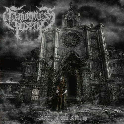 Fathomless Misery Descent Of Slow Suffering CD Black Doom Metal