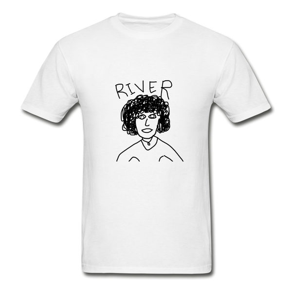 River T-Shirt - White - white