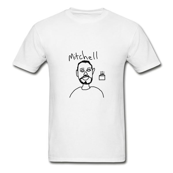 Mitchell T-Shirt - White - white