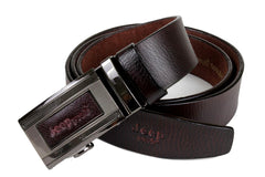 Jeep Pvoir Dress Belt - BBP007JP13-COFFEE