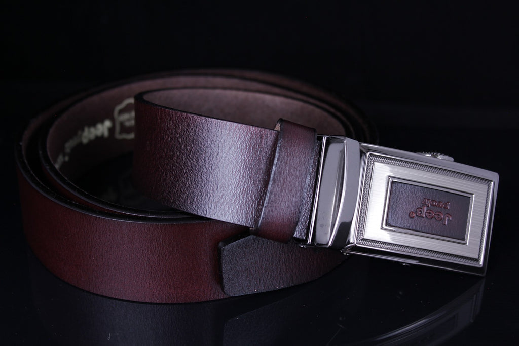 Jeep Pvoir Dress Belt - BBP007JP09-COFFEE