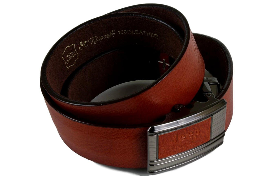 Jeep Pvoir Dress Belt - BBP007JP04-BROWN