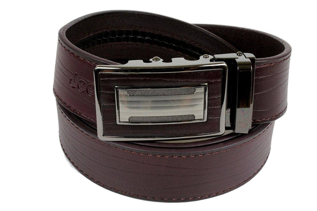 Jeep Pvoir Dress Belt - BBP007JP06-COFFEE