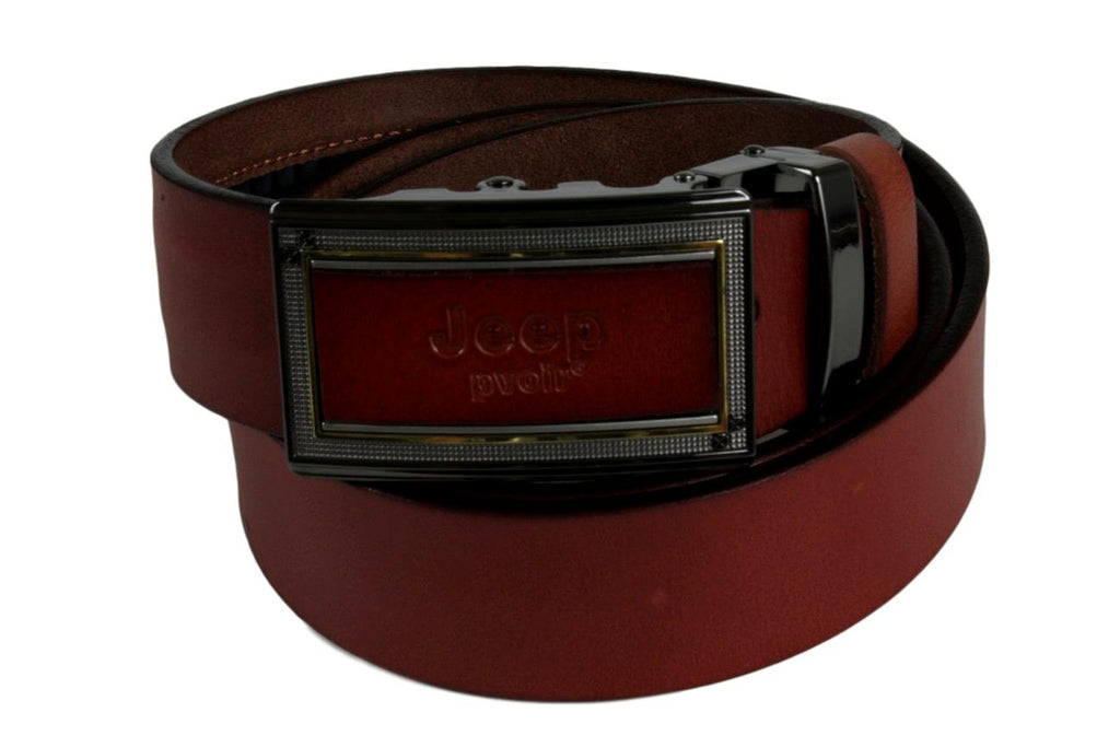 Jeep Pvoir Dress Belt - BBP007JP07-BROWN